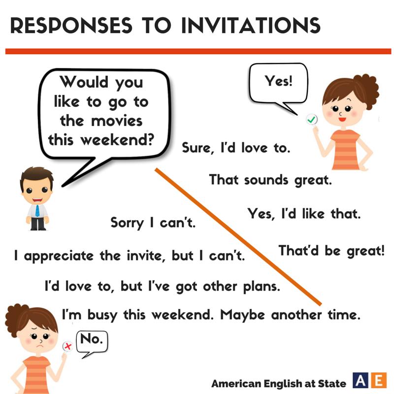 Responses to invitations english with shana stopboris Images
